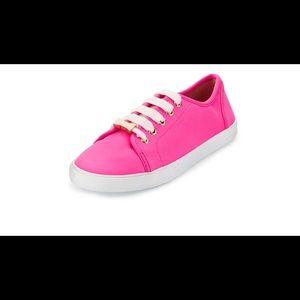 RARE Kate Spade Neon Pink Neoprene Sneaker 8